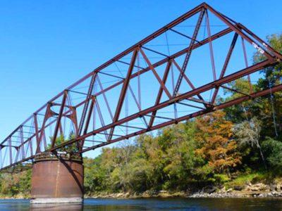 florida railway bridge in live oak florida