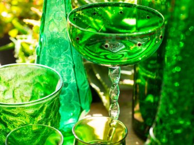 vintage glassware from forest antiques live oak florida
