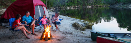 family camping at suwannee rv parks