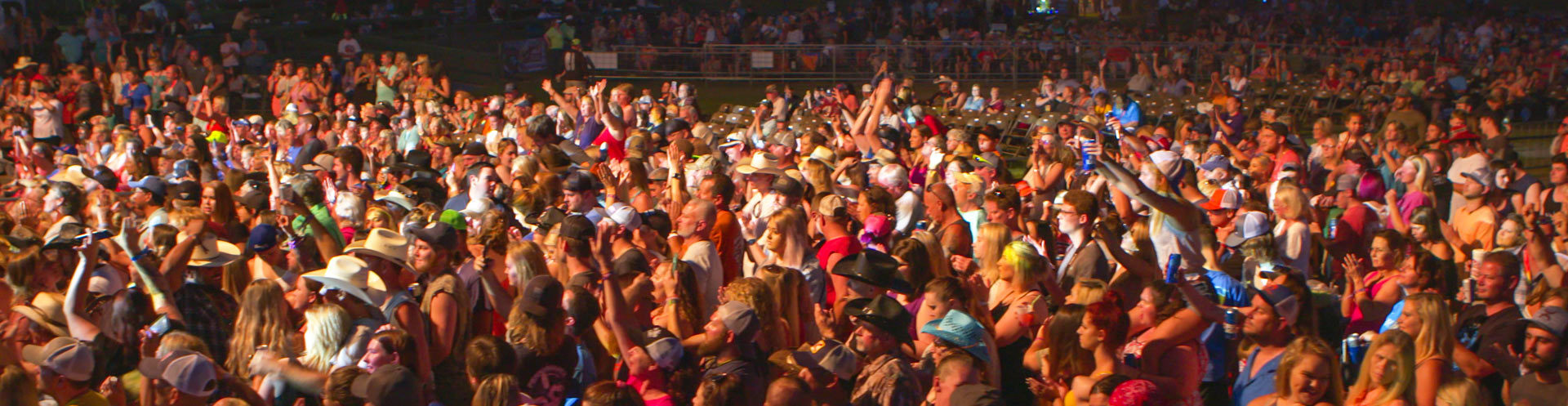 crowd attending suwannee music fest