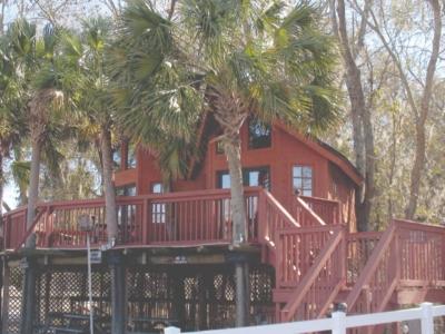 Tree house at Spirit of Suwannee Music Park